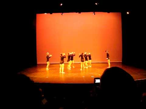 Contemporary Group Dance, Flow Show 2011, 'Wish You Were Here' Free Fight Dance