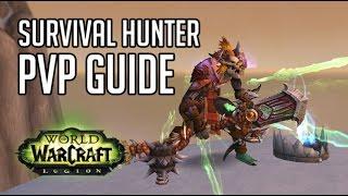 WoW:Legion Охотник выживание ПвП гайд (Survival hunter PvP Guide)