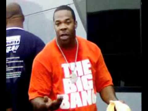 Woman Gets Told Off By Busta Rhymes