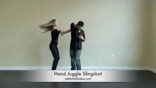 Salsa Dance Hand Juggle Slingshot Move