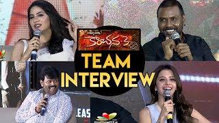 Kanchana 3 Team Telugu Interview || Raghava Lawrence || Vedhika || Nikki Tamboli || Sriman - IGTELUGU