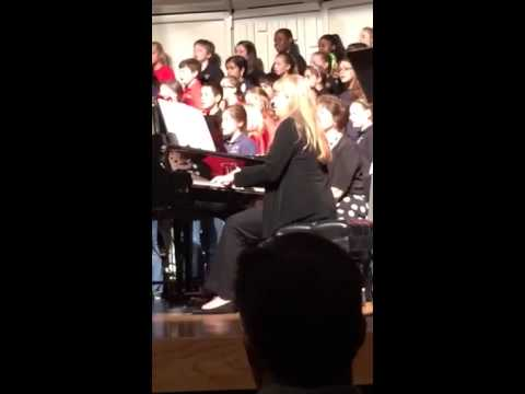 Krystina honor choir concert