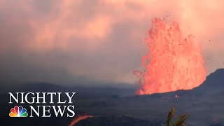 National Guard: Hawaii Residents May Soon Be Trapped Following Volcanic Eruption | NBC Nightly News - NBCNEWS