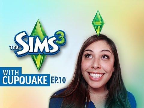 """""""I GOT A RAISE"""" Sims 3 Ep.10 W/ Cupquake"""