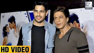 Shah Rukh Khan At 'A Gentleman' Screening | Sidharth Malhotra | LehrenTV
