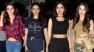 Tollywood Celebrities Attends Manish Malhotra's Party | Kiara Adwani |  Kushi Kapoor | Kriti Sanon - RAJSHRITELUGU