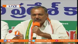 Sympathy Increased On Congress Leaders With Fake Cases | Gandra Venkata Ramana Reddy | iNews - INEWS