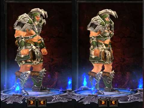 Diablo III Barbarian Armor Preview