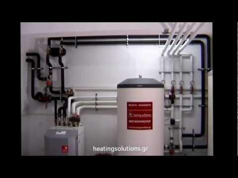 Αντλία θερμότητας γεωθερμική STIEBEL ELTRON (Μηχανοστάσιο)