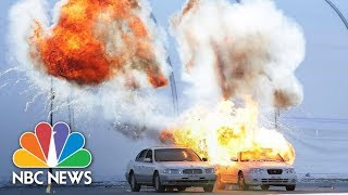 Explosions And Gunfire Rock Winter Olympic Venue During Security Drill | NBC News - NBCNEWS