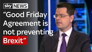 James Brokenshire: Two proposals to secure a frictionless border - SKYNEWS