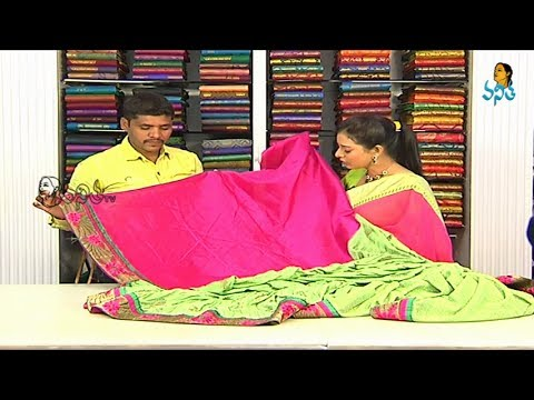 Latest Fancy Sarees include Blouse with Price | Sogasu Chuda Tarama_30-11-2013 | Vanitha TV