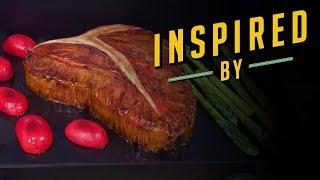 Grilled T-Bone Steak Cake | Food Network - FOODNETWORKTV