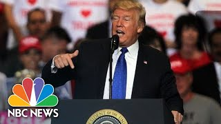 President Donald Trump Supports Kavanaugh, American Interests In Las Vegas Speech | NBC News - NBCNEWS