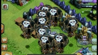 clash of clans coc TH7 build a base in 15 mins bonbee canada style