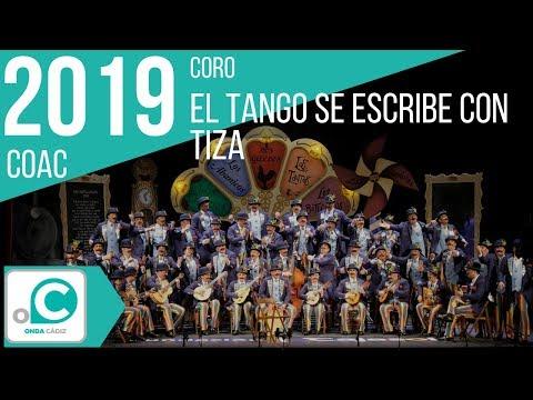 Sesión de Preliminares, la agrupación El tango se escribe con tiza actúa hoy en la modalidad de Coros.