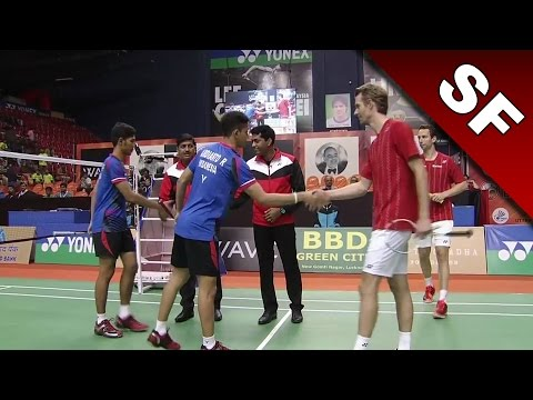 Syed Modi International Badminton C'ships 2017 | SF | Boe/Mog vs Alf/Ard [HD]