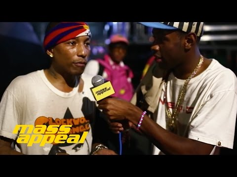 Pharrell - Tyler, The Creator Interviews Pharrell At Camp Flog Gnaw  Feat. Tyler, The Creator