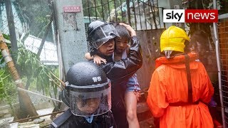 Landslides cause devastation in Philippines - SKYNEWS