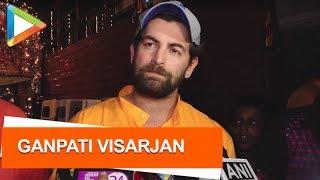 CHECK OUT: Neil Nitin Mukesh at Ganpati Visarjan - HUNGAMA