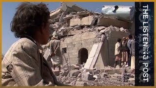 An unworthy war? US/UK reporting on Yemen - The Listening Post (Full) - ALJAZEERAENGLISH
