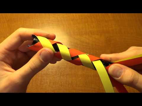 Как сделать из бумаги китайская ловушка для пальцев