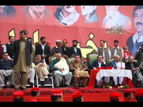 Khan of Nowshera, Chief of Khattak, Khan Hajj Muhammad Khan Khattak joining ANP