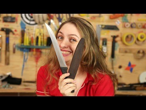 Como afiar uma faca (dica doméstica)