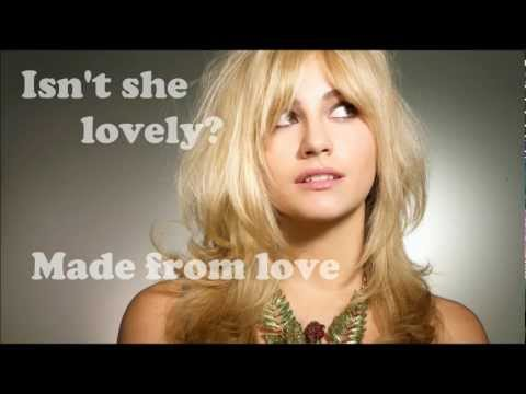 Pixie Lott - Isn't she lovely (Lyrics) (Cover - Live Xsession)