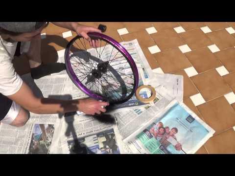 Como pintar tu BMX facil y rapido