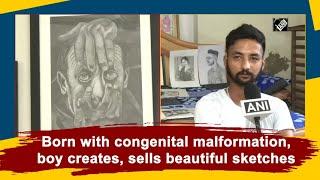 Video - Ludhiana के दिव्यांग कलाकार Harjit Singh पेंटिंग Online बेचकर कर रहे कमाई