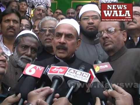 Dy CM Telangana Mahmood Ali visited Bibi Ka Alawa during Moharram