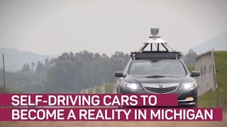 Driverless cars to become a reality in Michigan - CNETTV