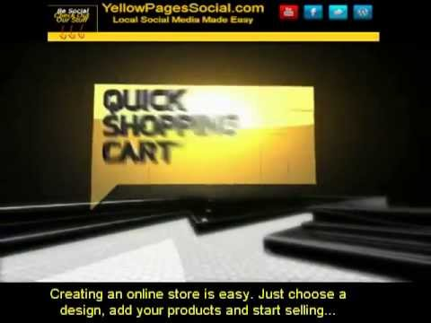 Quick Shopping Cart With Instant Facebook and