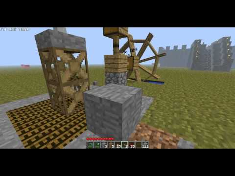 Minecraft How to make an elevator w BTW Mod