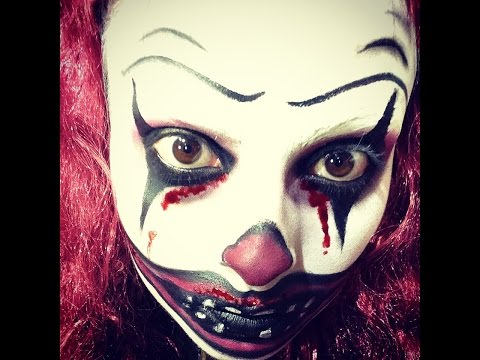 CREEPY CLOWN / PAYASO MALVADO (Tutorial de maquillaje para HALLOWEEN)