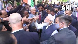 न्यूयॉर्क प्रधानमंत्री नरेंद्र मोदी ने भारतीय समुदाय के लोगों से मुलाकात की