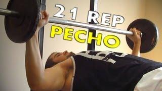 Espectacular ejercicio para pectorales | 21 repeticiones