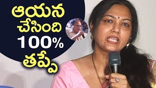 Actress Hema Reacts On Chalapathi Rao Vulgar Comment Issue | TFPC - TFPC