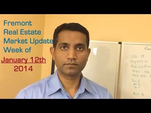 Fremont Real Estate Market Update -Week of January 12, 2014