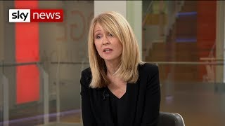 Esther McVey: First TV interview after resignation - SKYNEWS
