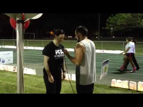 3AM Synchronized Jump Roping at Plantation Relay For Life (Team Personal Fitness Advantage)