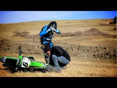 Kaboom! 2012 Kawasaki 450 shatters motor!