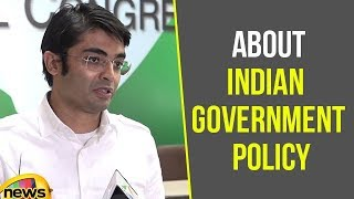 Congress Politician Jaiveer Shergill Speaks About Indian Government Policy | Mango News - MANGONEWS