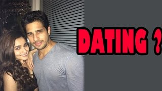 Alia Bhatt and Siddharth Malhotra dating? | Bollywood News