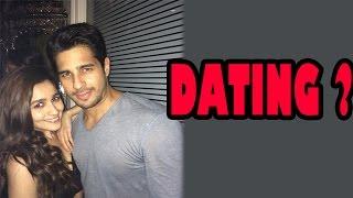 Alia Bhatt and Siddharth Malhotra dating? | Bollywood News