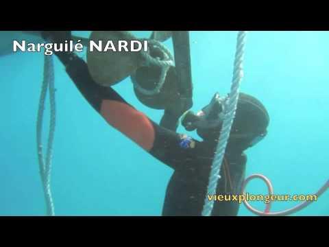 narguile sous l'eau