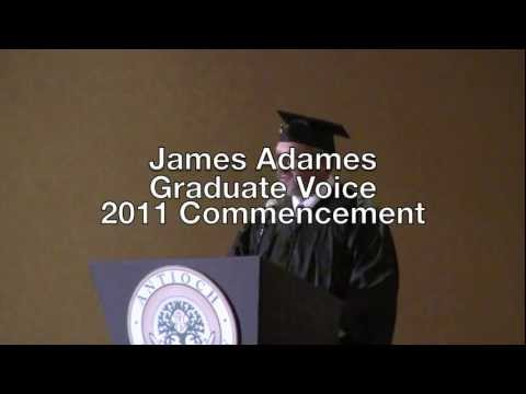 Commencement Ceremony Speaker at Antioch Santa Barbara