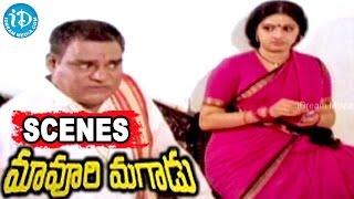 Maavoori Magaadu Telugu Movie Scenes - Krishna, Sridevi, Kaikala Satyanarayana Climax Scene - IDREAMMOVIES
