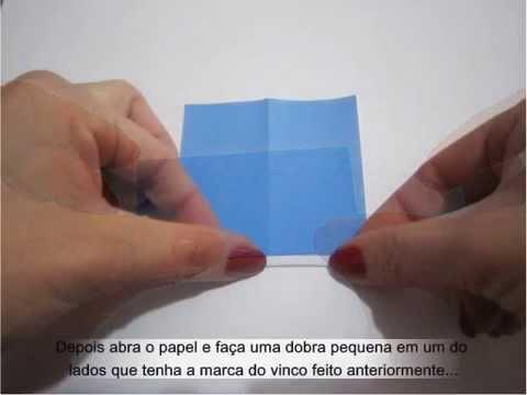 Passo a passo Macacão de Bebê em Origami